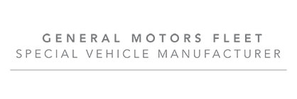 General Motors Fleet Specialty Vehicle Pool Programs
